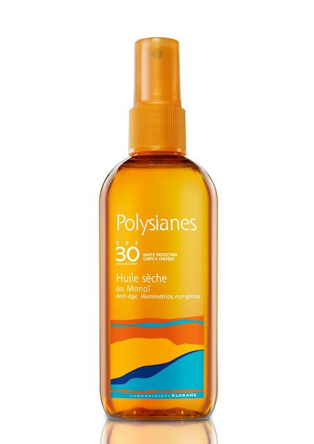 Aceite Seco Monoï SPF30 Polysianes Klorane