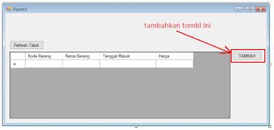 2 - Tutorial Vb.Net - Cara membuat Form Simpan(Input) Ke Database Mysql Memakai Connector Odbc