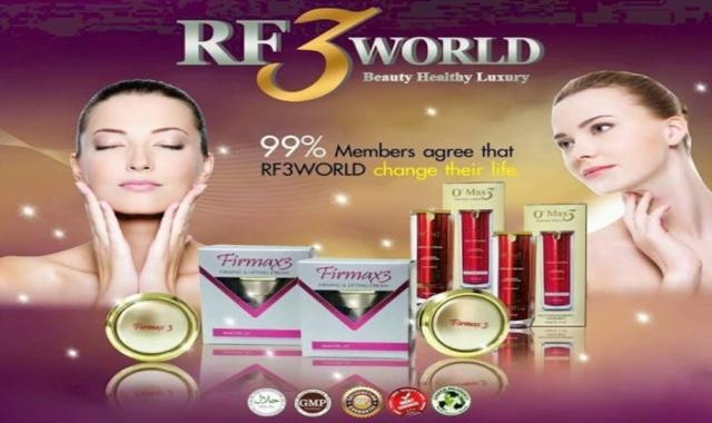 Cantik dan Sihat dengan Produk Keluaran RF3 WORLD