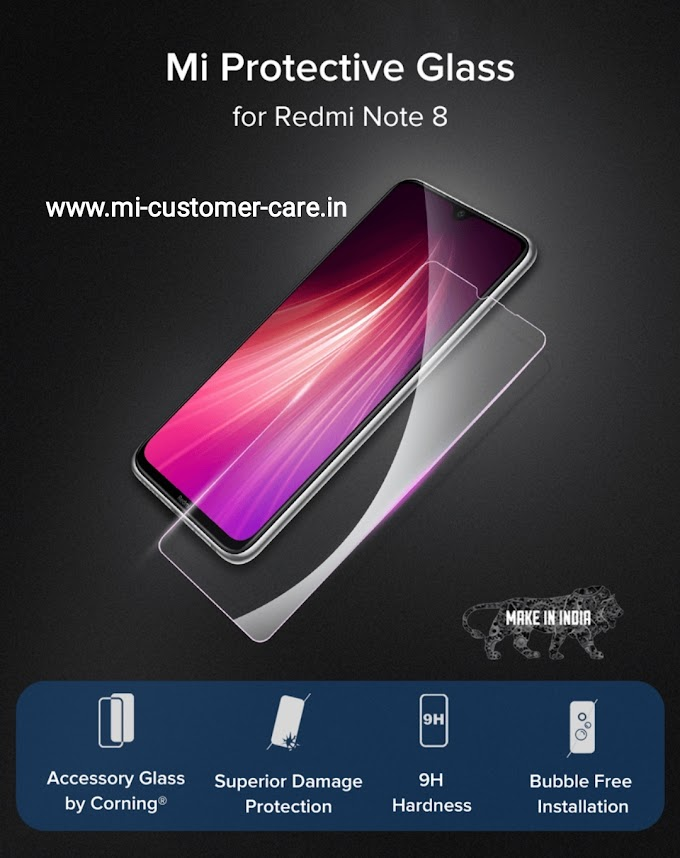 What is the price-review of MI protective glass for Redmi Note 8?