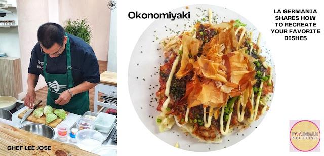 La Germania with Chef Lee Jose with Okonomiyaki recipe
