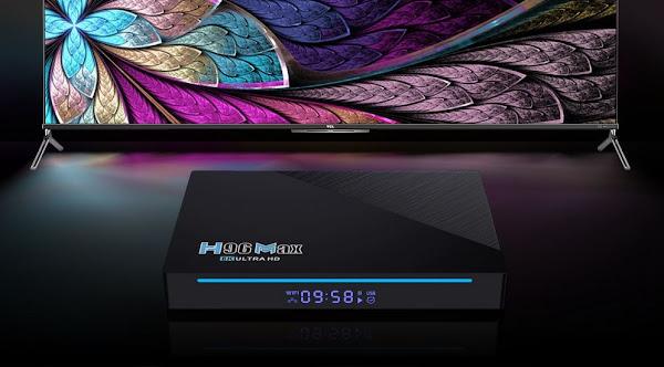 Nova H96 MAX com 8GB de RAM, novo RK3566 e Android 11!