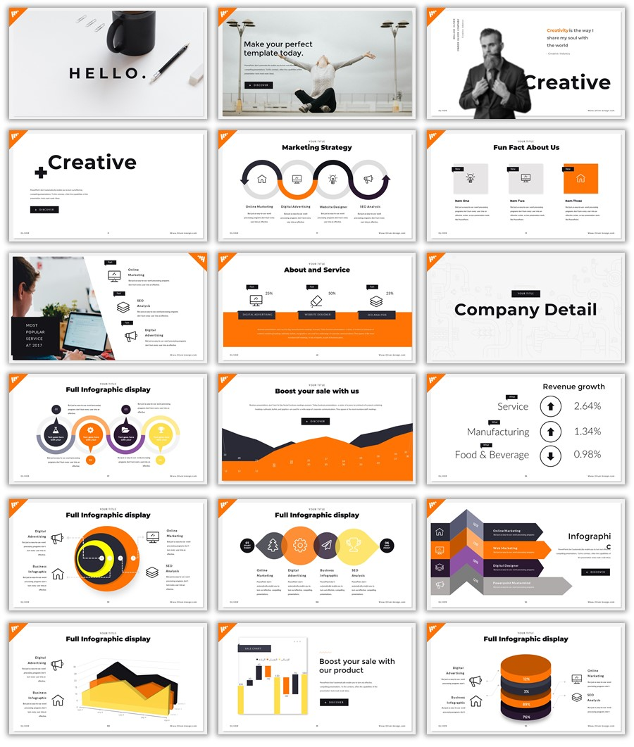 best powerpoint template for business presentation