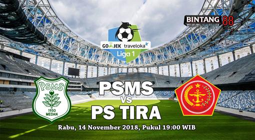 Prediksi PSMS Vs PS TIRA 14 November 2018