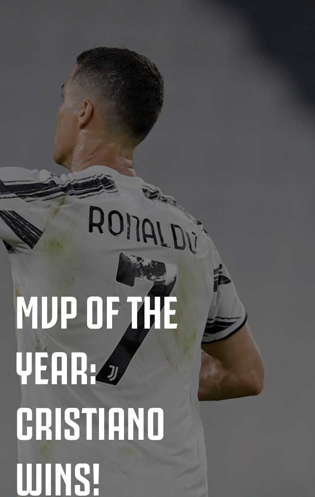 Cristiano Ronaldo Named As Juventus' MVP Of The Year