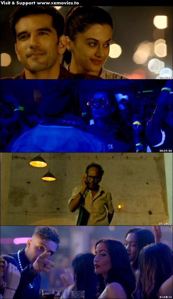 Naam Shabana 2017 Hindi 480p DVDRip 400MB