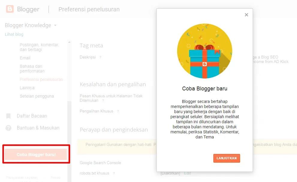 Blogger Baru