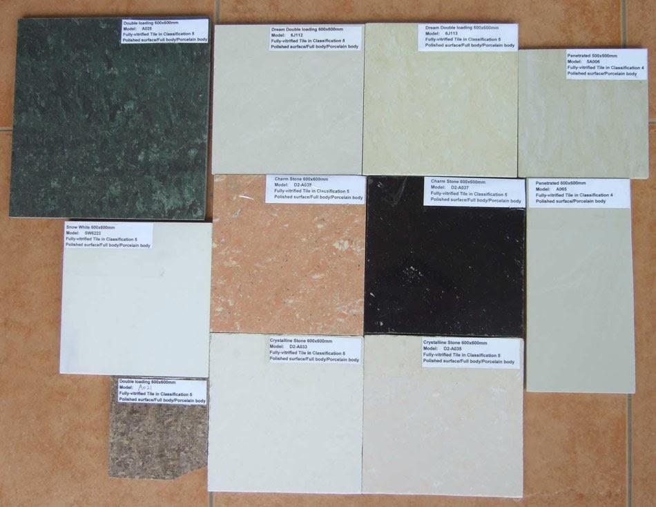 Tips Memilih Jenis Ubin Keramik Iis Marmer Granit