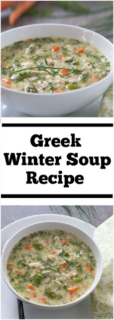 Greek Winter Soup Recipe #Greeksoup #wintersoup #soup #easydinner