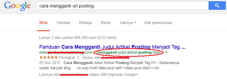 url posting diperhitungkan search engine