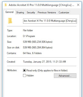 Cara Mengetahui Ukuran (SIZE) File di Komputer