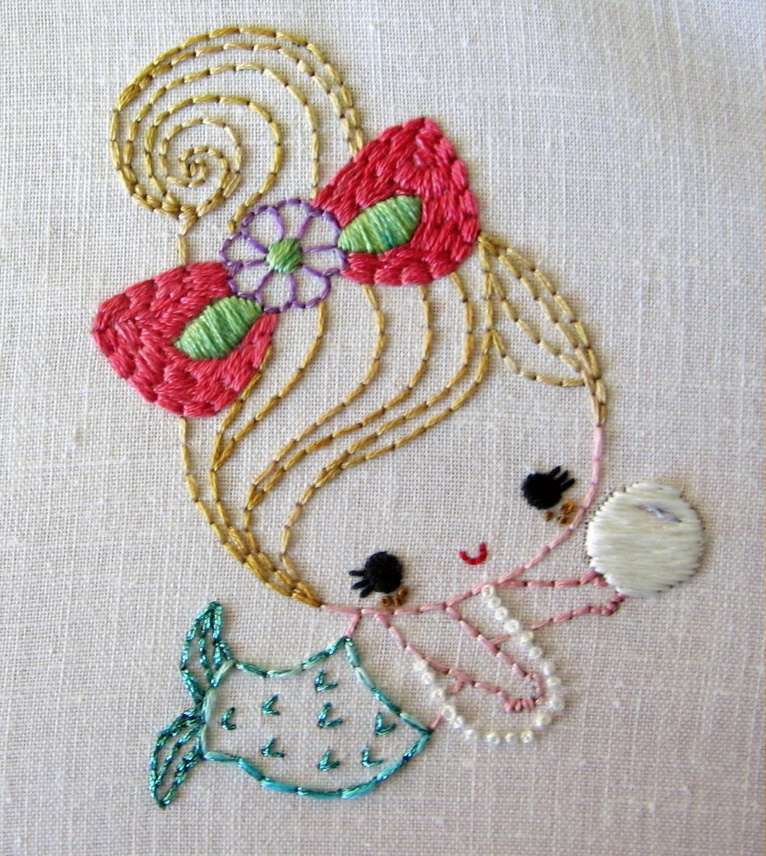 Stitchy Stitcherson Greenbeanbaby Embroidery Patterns