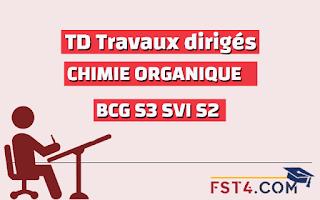 TD CHIMIE ORGANIQUE BCG SVI PDF