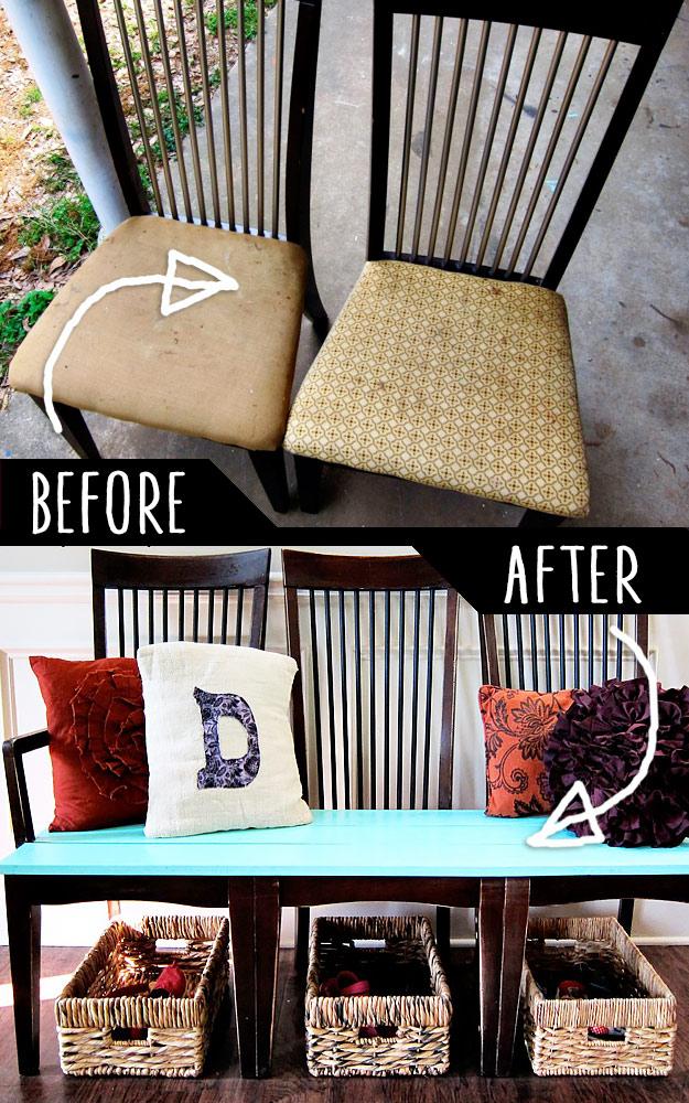 Ideas decorativas 4 ejemplos de como reciclar muebles - Como reciclar muebles ...