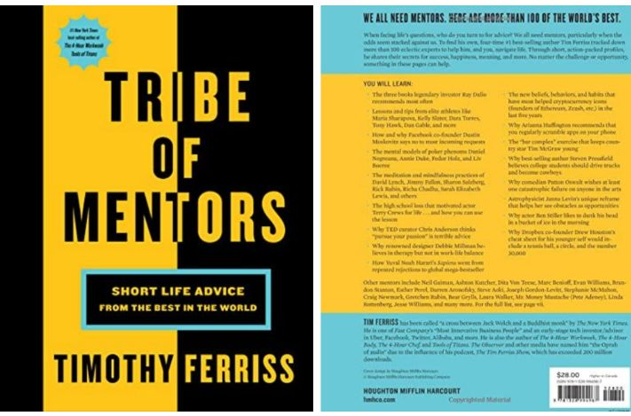 Tim Ferriss' Book: Advice and Tips from the World's Best Mentors
