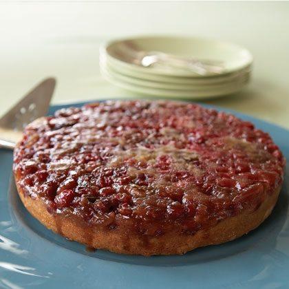 Yankee Cranberry Upside-Down Cake Recipe