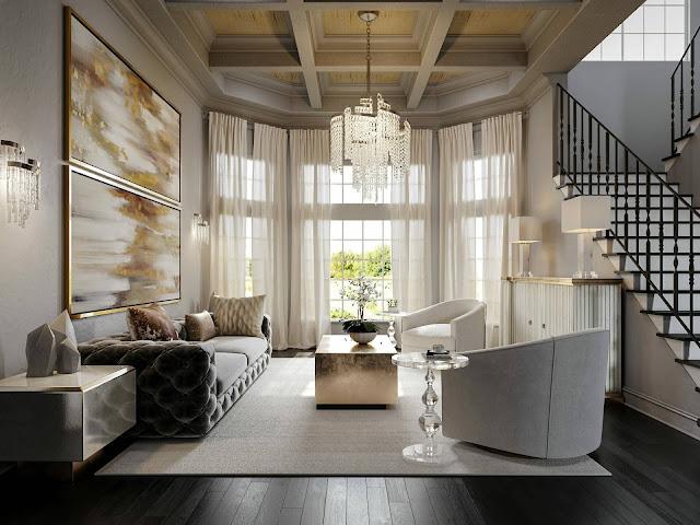 best long living room design