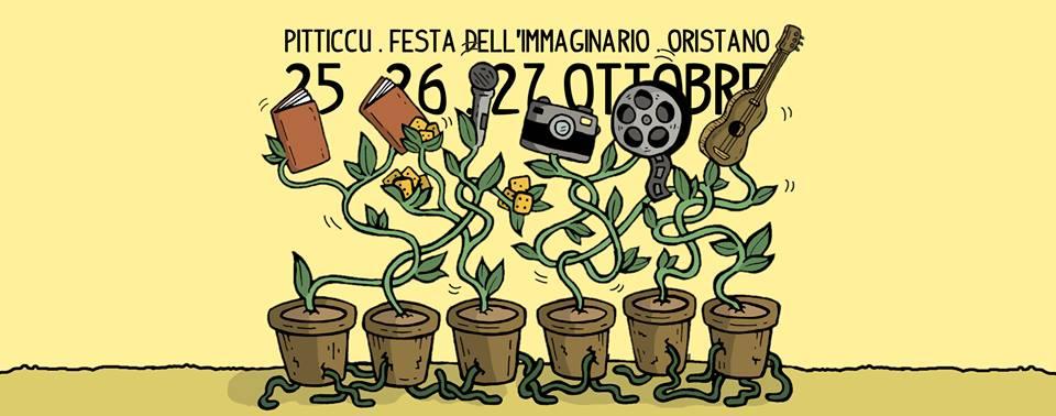 """""""Pitticcu"""", la prima festa dell'immaginario a Oristano il 25, 26, 27 ottobre"""