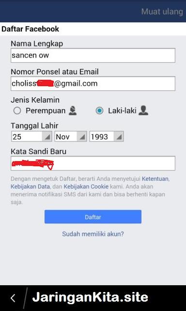 Facebook : Cara Mudah Membuat / Mendaftar Akun Facebook Dengan Cepat