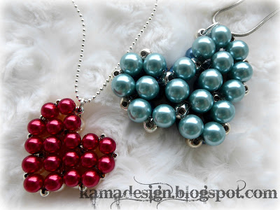 Beaded heartlocket tutorial