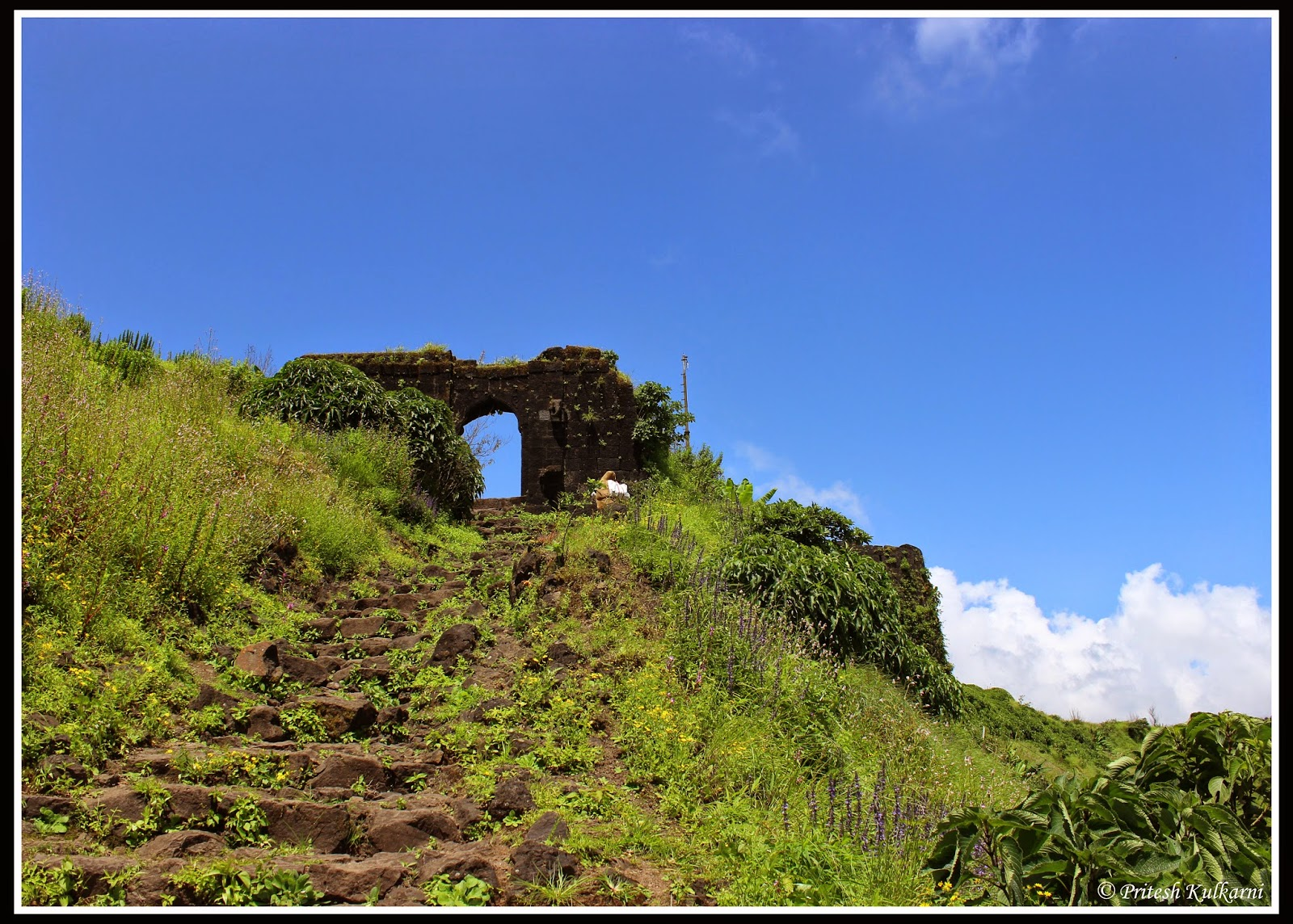 Last entrance Gate of Rohida fort
