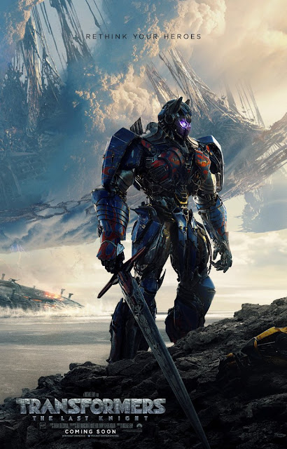 First Look Poster of Transformers: The Last Knight