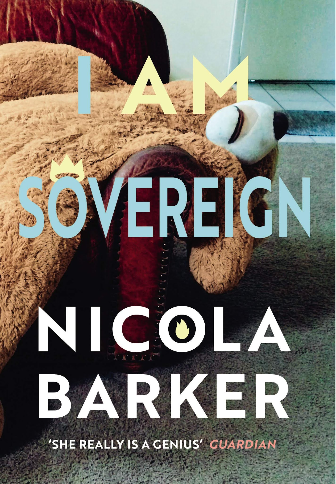 Book cover for I am Soverign by Nicola Barker I am Soverign in the South Manchester, Chorlton, Cheadle, Fallowfield, Burnage, Levenshulme, Heaton Moor, Heaton Mersey, Heaton Norris, Heaton Chapel, Northenden, and Didsbury book group