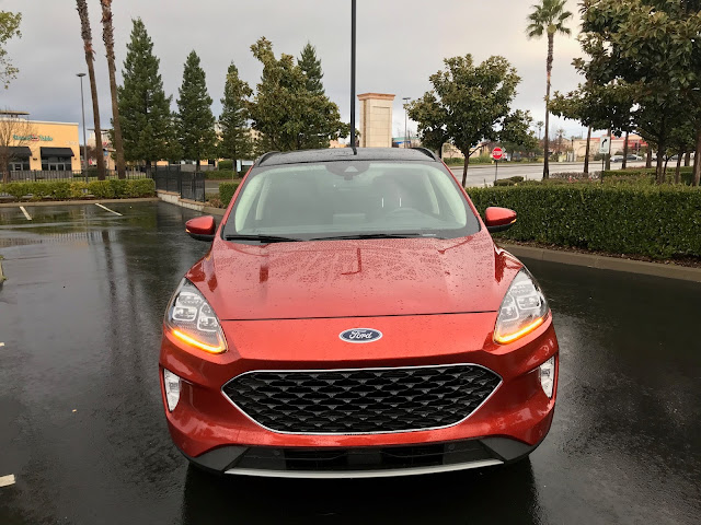 Front view of 2020 Ford Escape Titanium AWD