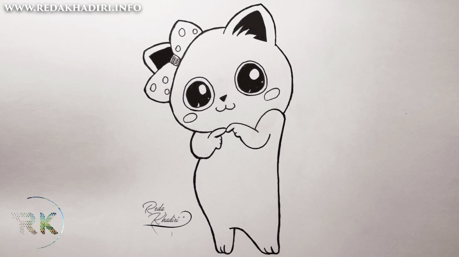 Video 26 Comment Dessiner Un Chat Kawaii Facilement Moins D 4