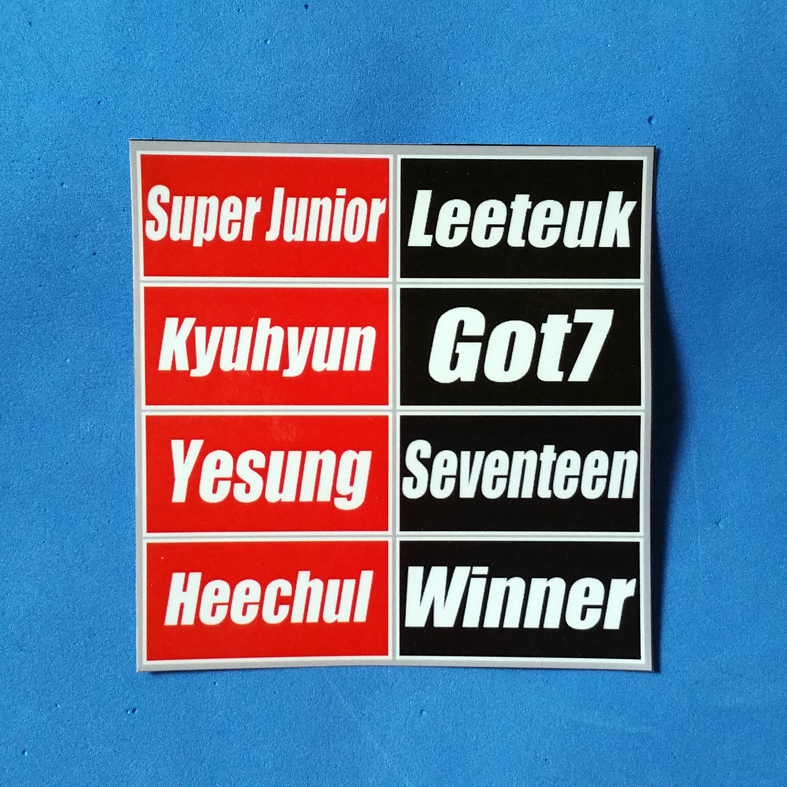 STICKER KPOP CUSTOM