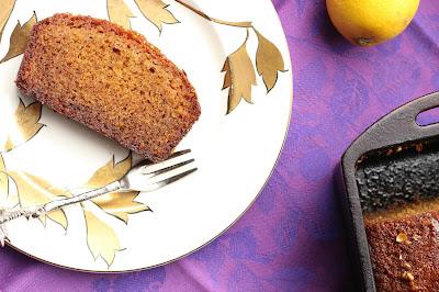 cake citron et grains de coriandre
