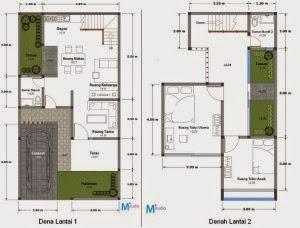 desain rumah minimalis luas tanah 300