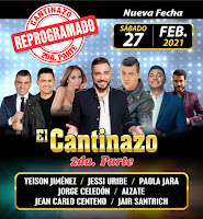 El SUPER CANTINAZO 2 en Bogotá 2021