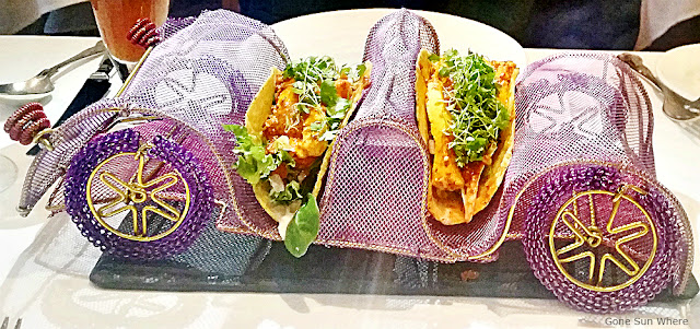Gaylord restaurant - Paneer Jalfrezi Tacos