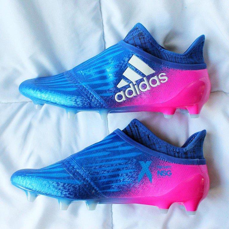 Clearance Blue Blast Adidas X 16 PureChaos 2017 Boots Leaked f07d6e140ed8