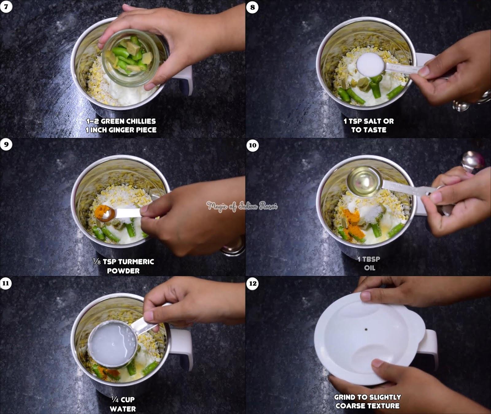 Instant Moong Dal Dhokla Recipe - मूंग की दाल का इंस्टेंट ढोकला - Priya R - Magic of Indian Rasoi