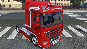 Hartman Transport skins for Scania R and DAF
