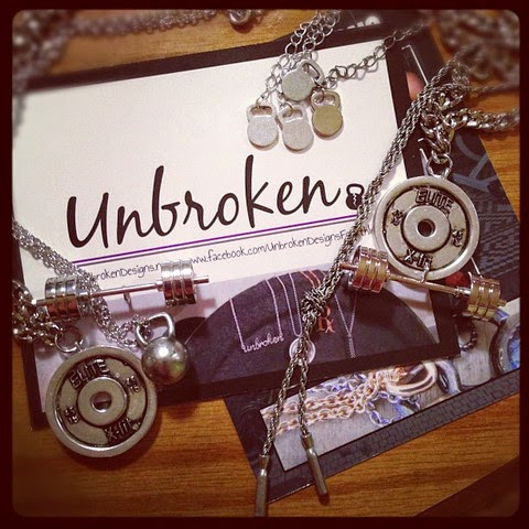 Style Athletics Unbroken Designs Workout Fitness Gym Jewelry