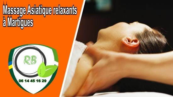 Massage Asiatique relaxants à Martigues;