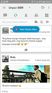 BBM IOS Iphone Light v12 Versi Terbaru Base v3.1.0.13 APK
