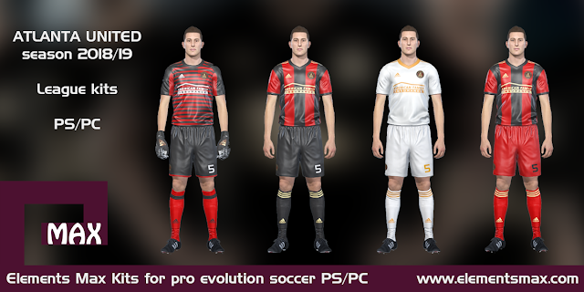 Atlanta United PES Kits 2018