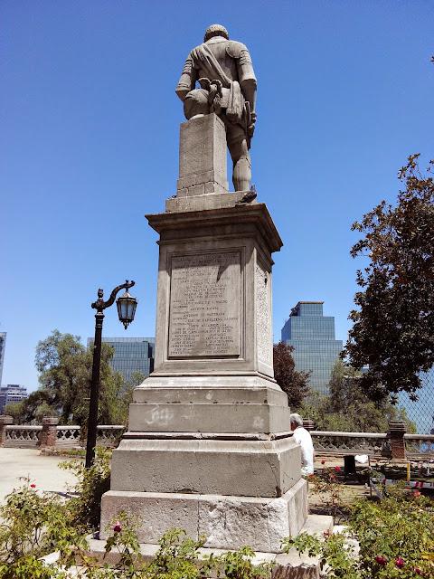 Cerro de Santa Lucia, Santicago, Chile