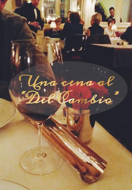 Una cena al Del Cambio di Torino