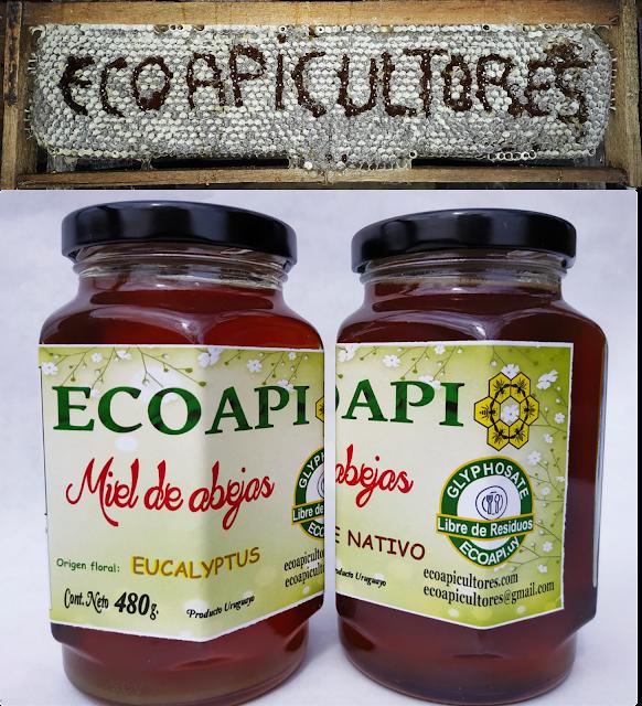 Miel sin glifosato. ecoapicultores. ecoapi