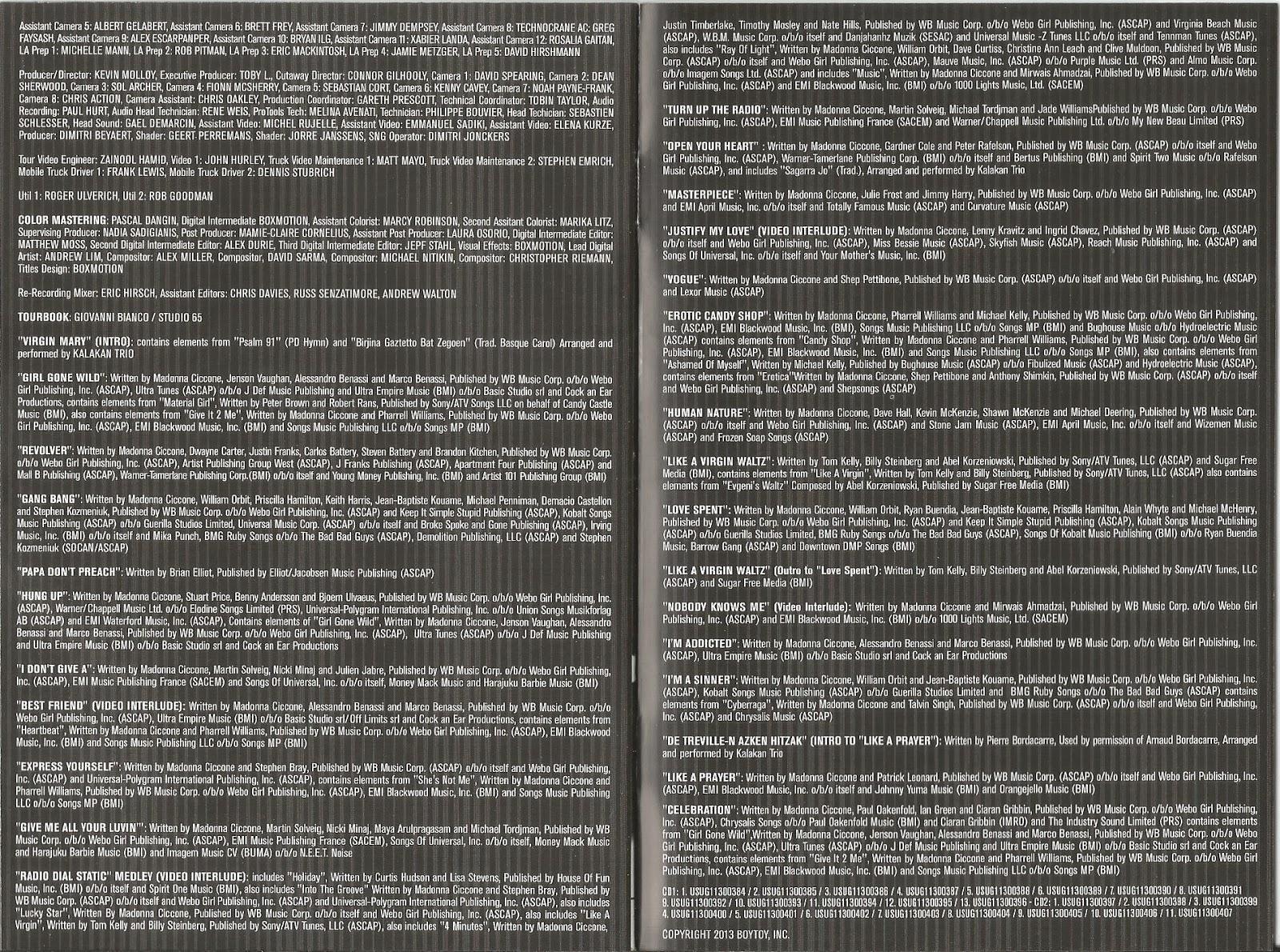 MDNA WORLD TOUR   Blurrei - Blu-Ray, CD, DVD, Livros e muito