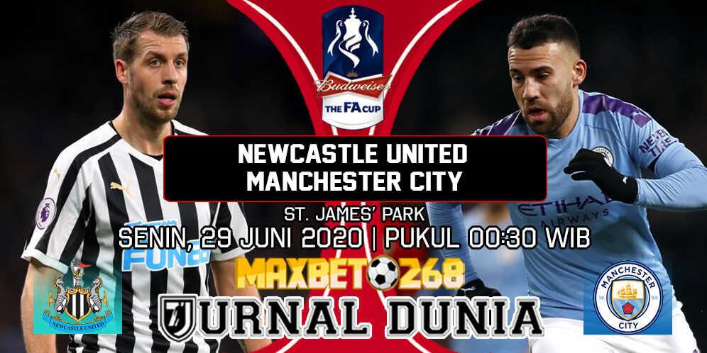 Prediksi Newcastle United vs Manchester City 29 Juni 2020 Pukul 00:30 WIB