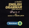 A Basic Grammer With Answer Vol. 1 by Saya U Thein Lwin