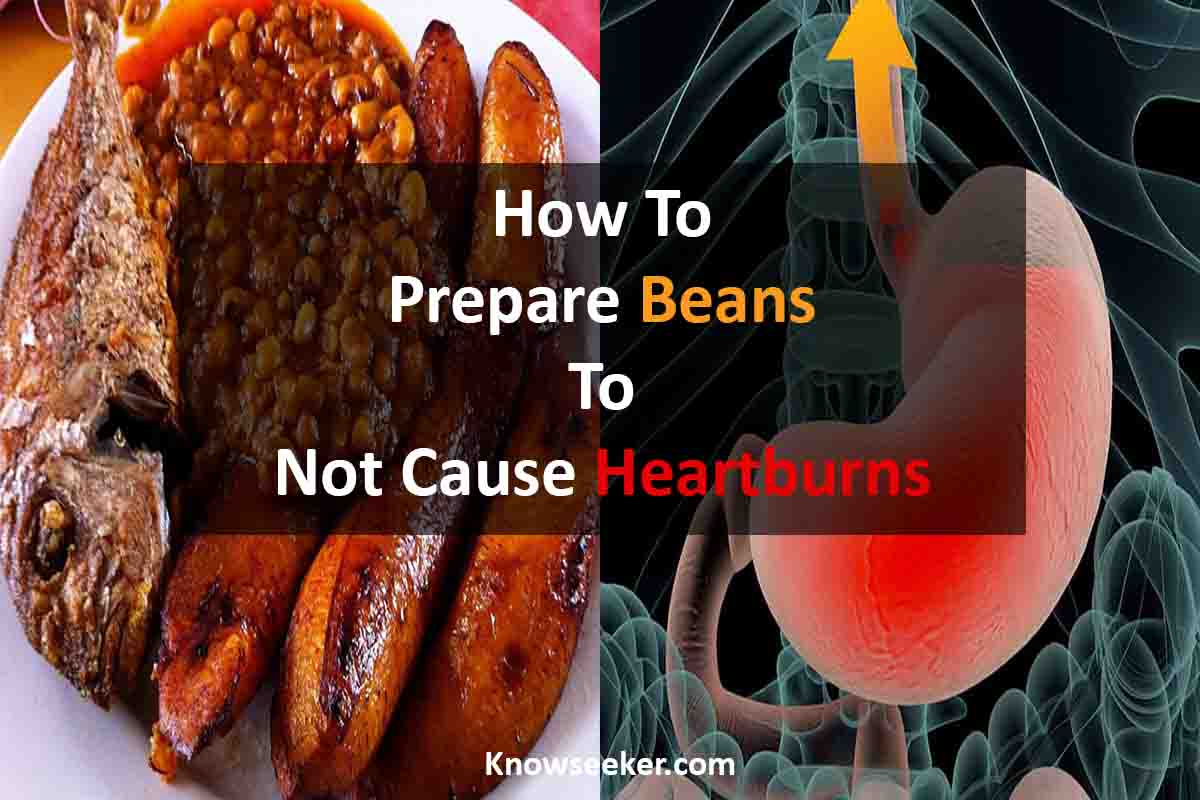 Cook beans without it causing heartburns