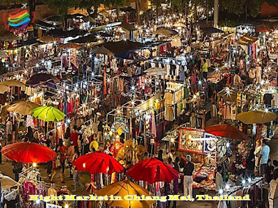 Night Market in Chiang Mai, Thailand