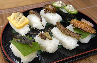 Insects as Food (c) http://http://blog.friendseat.com